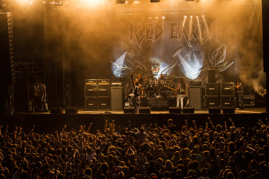 Iced Earth live, Rock Harz 2013