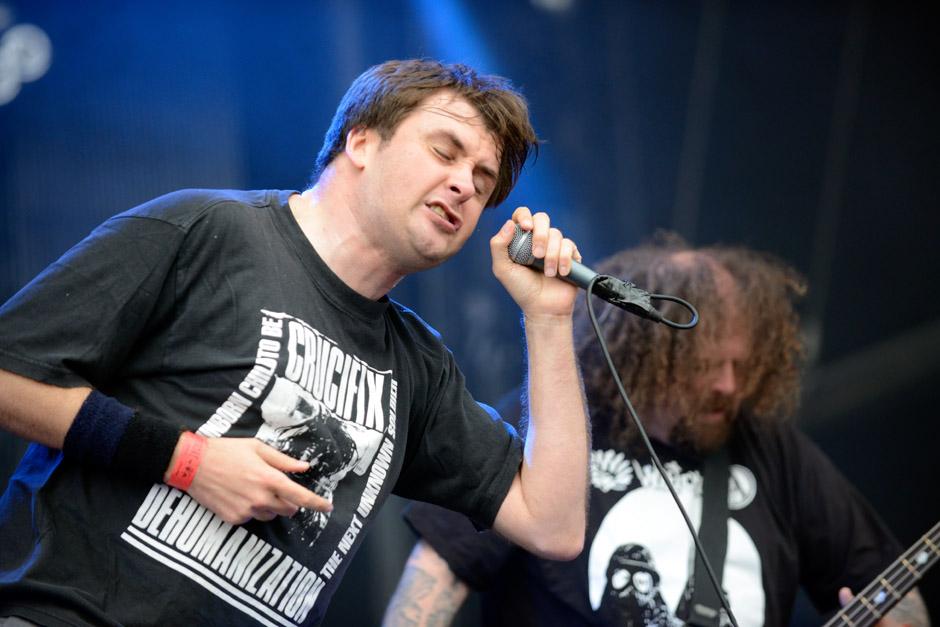 Napalm Death live, Wacken Open Air 2012