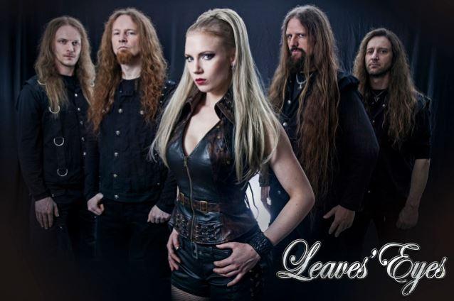 Leaves' Eyes mit Elina Siirala