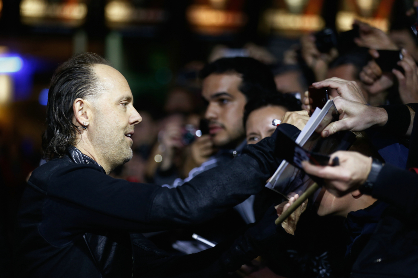 Bei der Premiere von Metallicas 'Through The Never' in Berlin, 12.09.2013