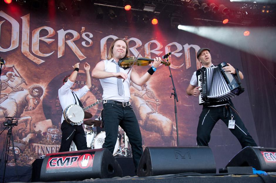 Fiddlers Green live, Summer Breeze 2013