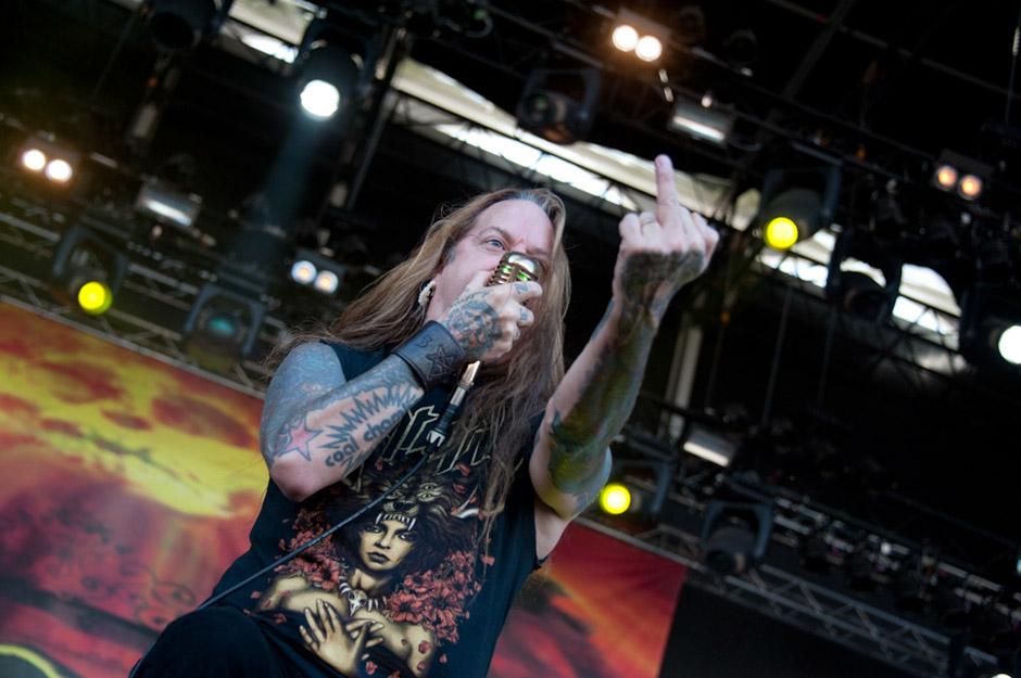 Devildriver live, Summer Breeze 2013