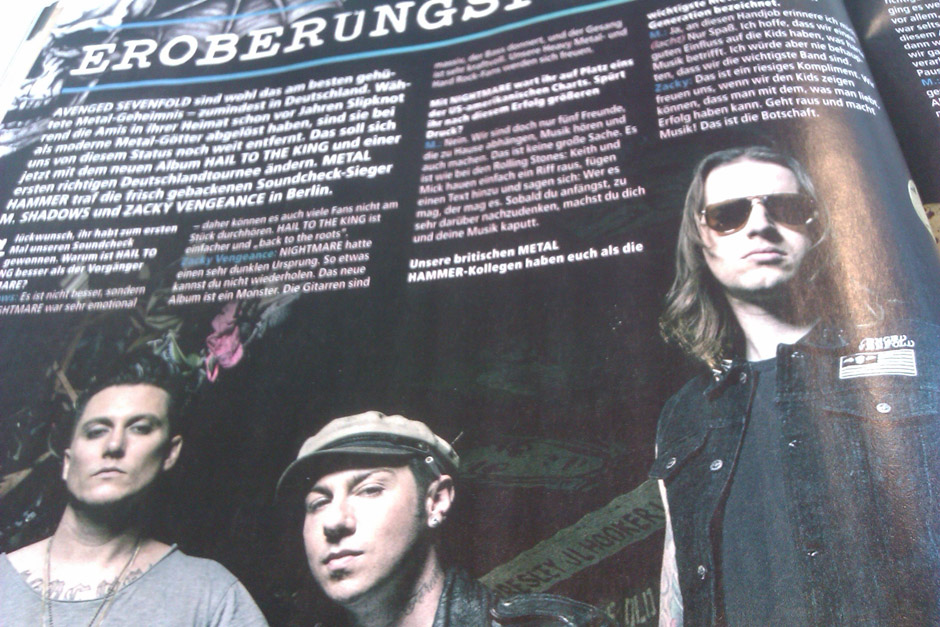 METAL HAMMER-Ausgabe September 2013