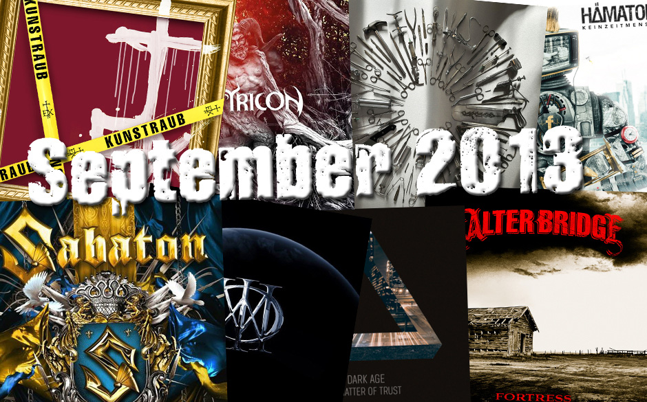 Die neuen Metal-Alben im September 2013