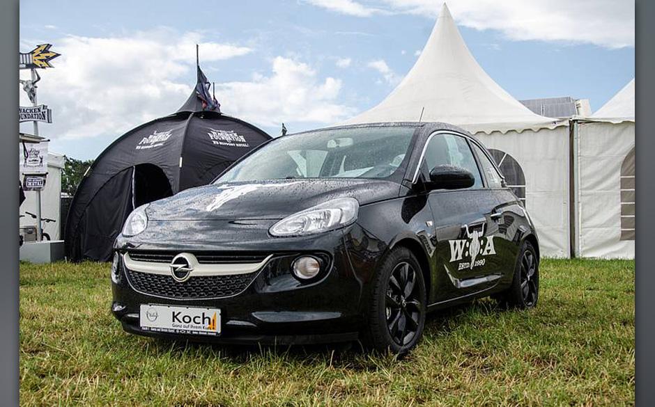 Opel Adam im Wacken-Design