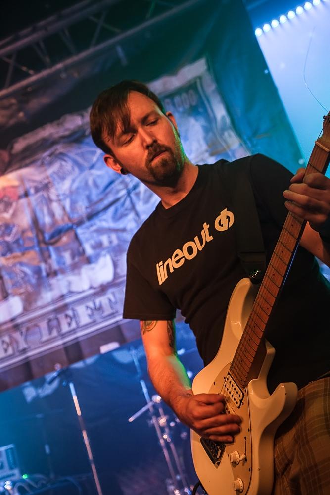 Money Left To Burn live in Nürnberg, Rockfabrik, 01.09.2013
