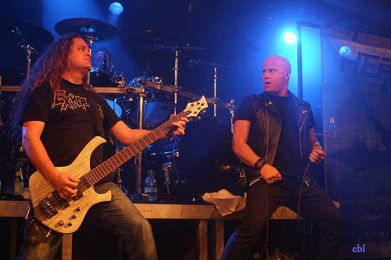 Heathen, live, 29.11.2011 München, Backstage
