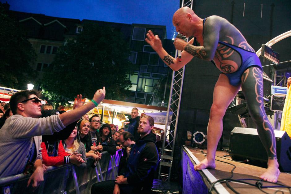 Knorkator live, 08.09.2013, Jena, Stadtfest