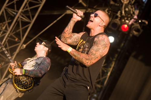 Avenged Sevenfold live, Wacken 2008