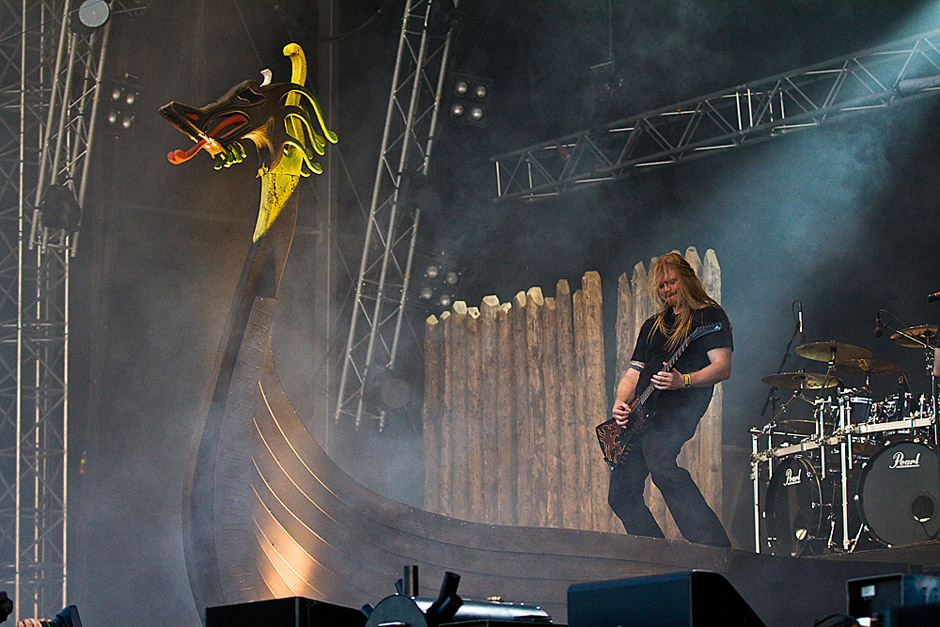 Amon Amarth live, Sweden Rock 2013
