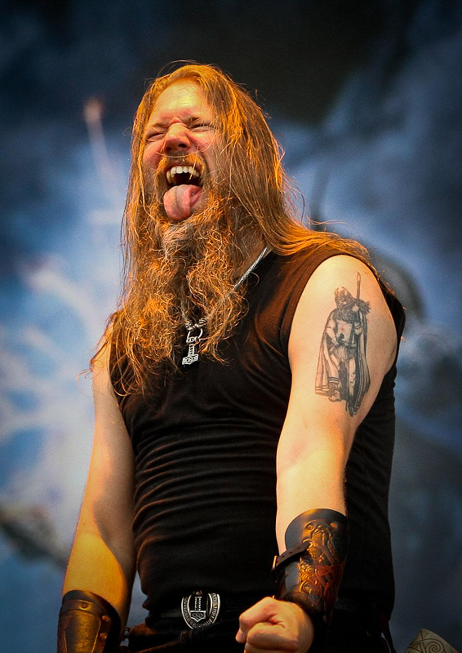 Amon Amarth live, Nova Rock 2013