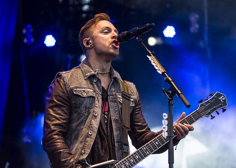 Bullet For My Valentine live, Elbriot Festival 2013