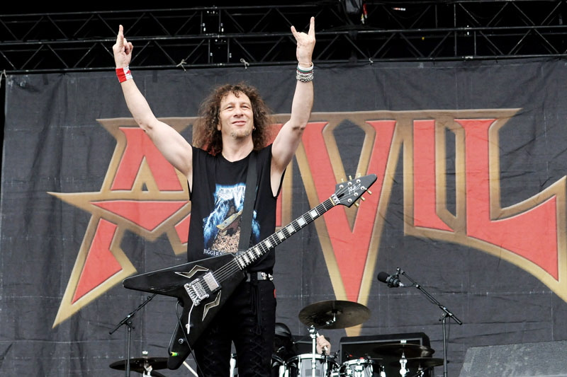 Anvil, Graspop Metal Meeting 2011