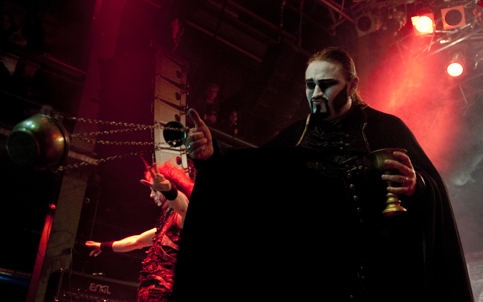 METAL HAMMER AWARDS 2013  Powerwolf live
