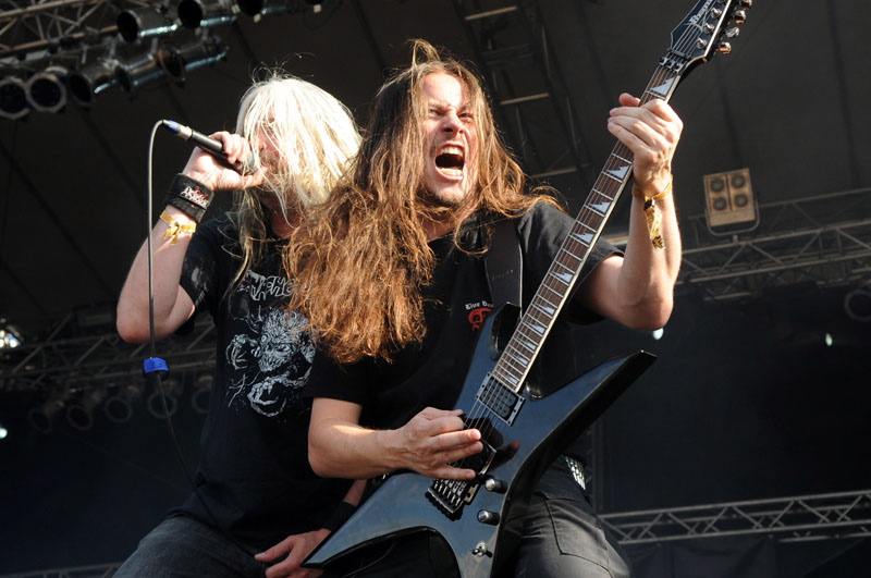 Hail Of Bullets, live, Rock Harz 2011