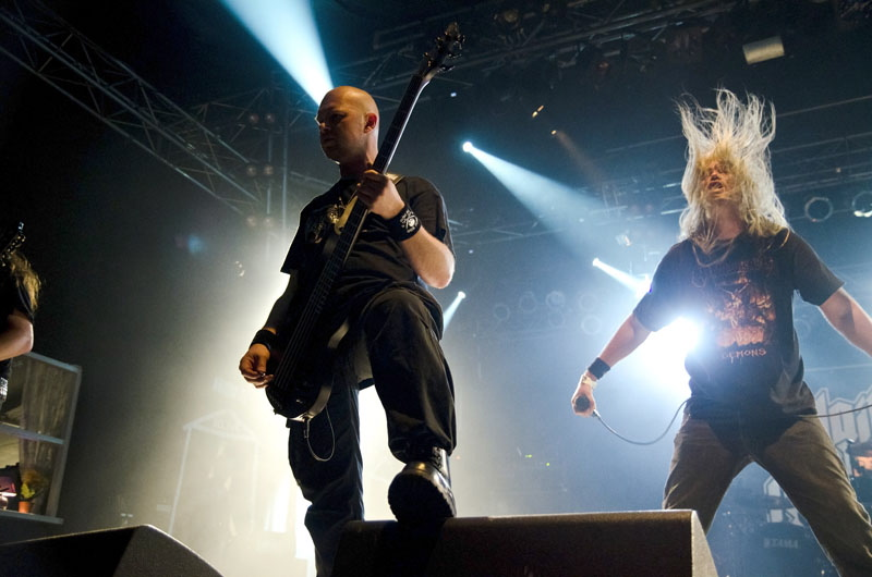 Hail Of Bullets, live, Wacken 2011