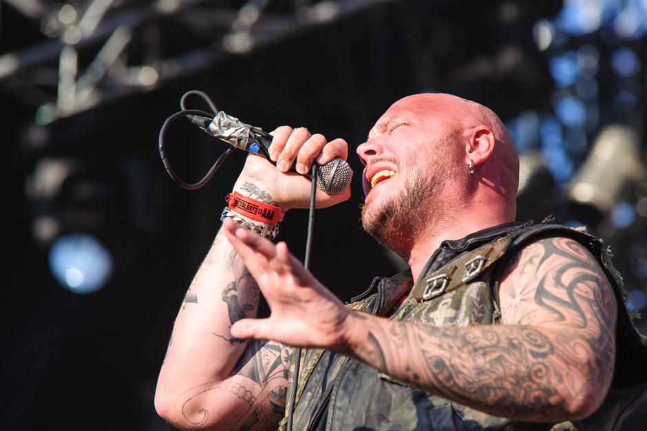 Soilwork live, Metaldays 2013