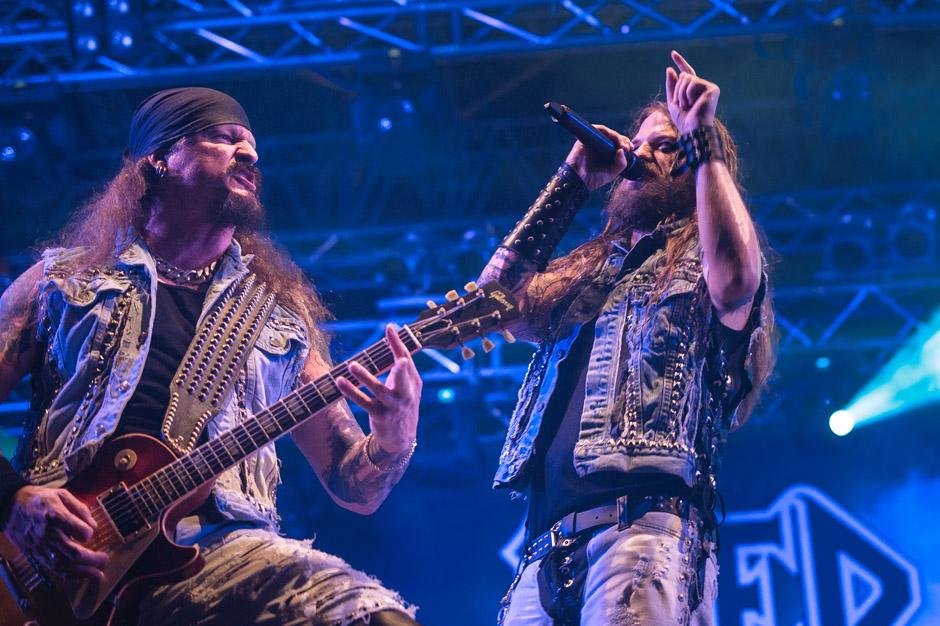 Iced Earth live, Metaldays 2013