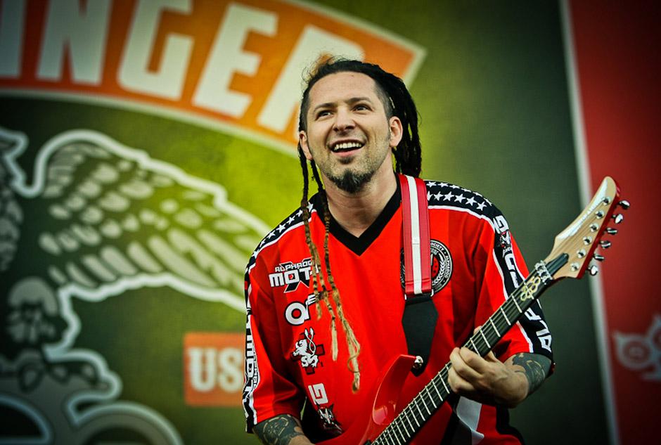 Five FInger Death Punch live, Nova Rock 2013