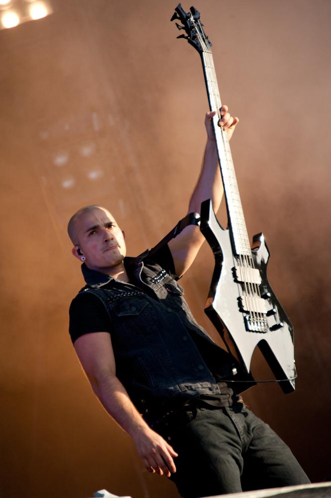 Trivium live, Wacken Open Air 2013