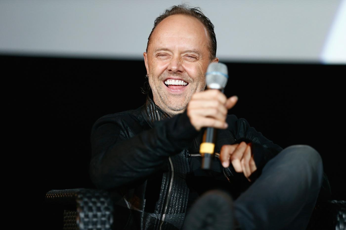 Bei der Premiere von Metallicas 'Through The Never' in Berlin, 12.09.2013