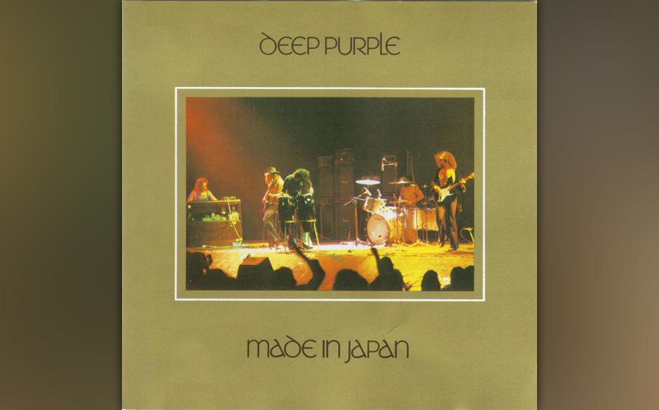 DEEP PURPLE: MADE IN JAPAN  'Ich mochte Deep Purple schon immer. Doch was sie auf MADE IN JAPAN zustande gebracht haben, ist