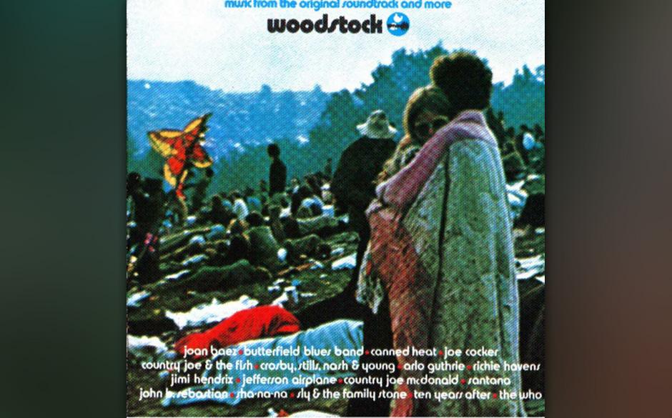 WOODSTOCK LIVE  'Die Woodstock-Scheibe gehört in jede Plattensammlung. Unterschiedliche Künstler, allesamt in prächtiger V