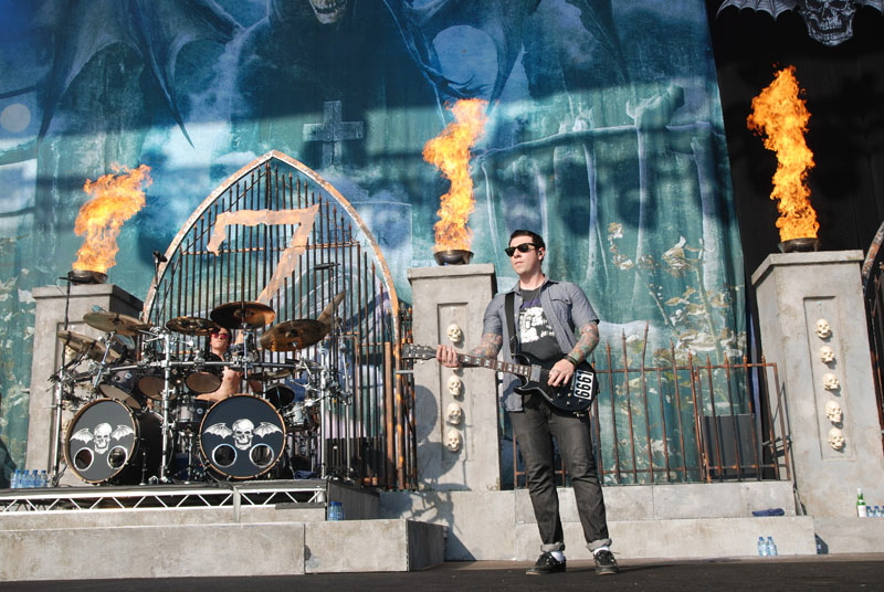 Avenged Sevenfold, Graspop Metal Meeting 2011