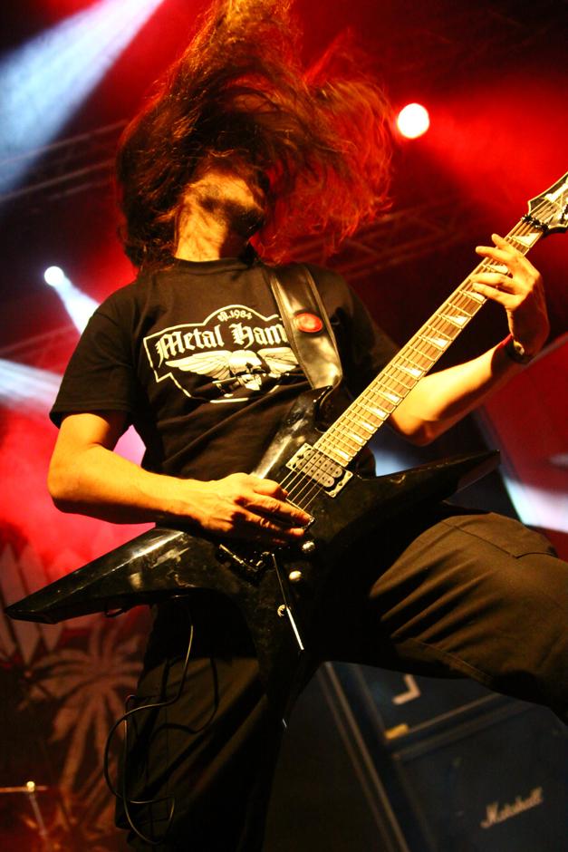 Hail Of Bullets live, Hell Inside 2013