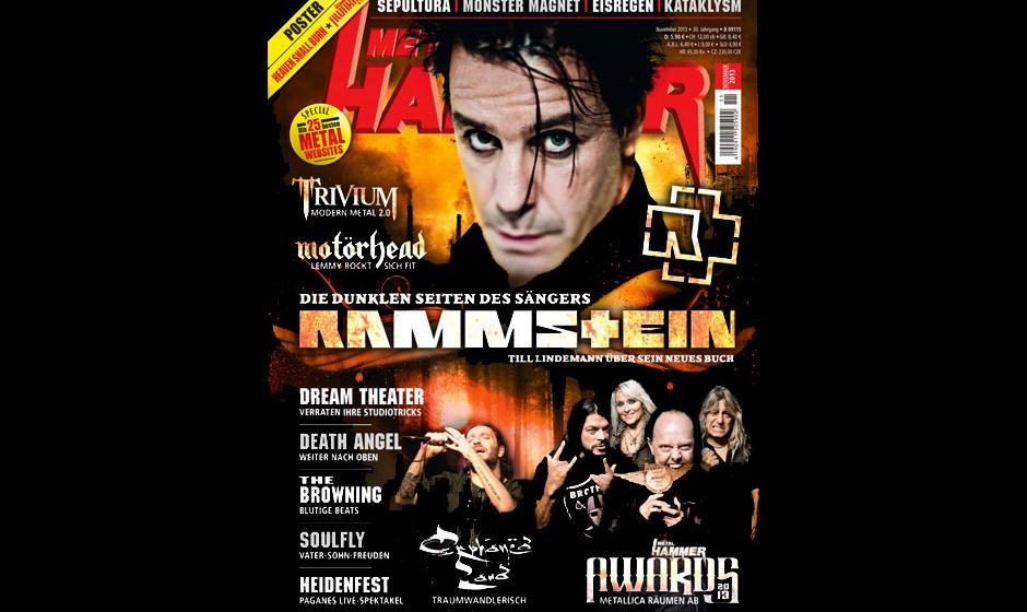 METAL HAMMER-Ausgabe November 2013