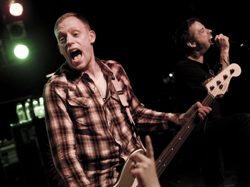Boysetsfire live, 06.10.2013, Hamburg: Markthalle