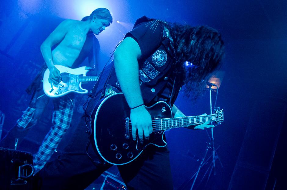 NullDB live, 12.10.2013, München: Backstage