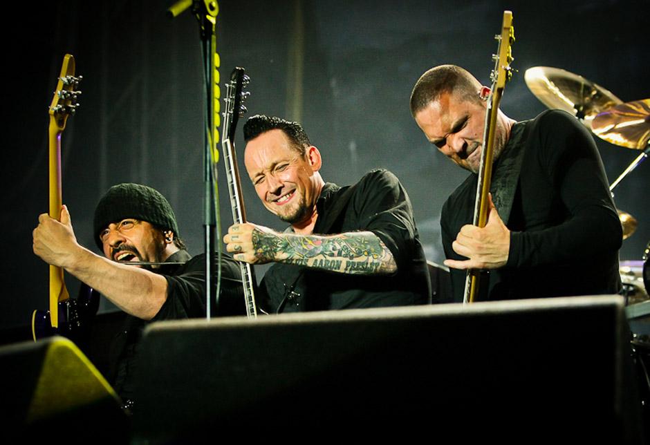 Volbeat live, Nova Rock 2013