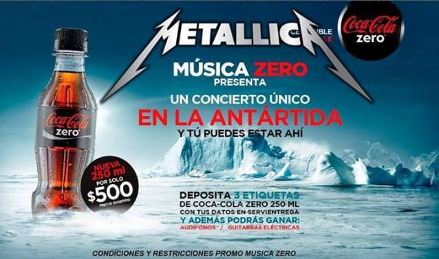 Coca Cola Zero und Metallica