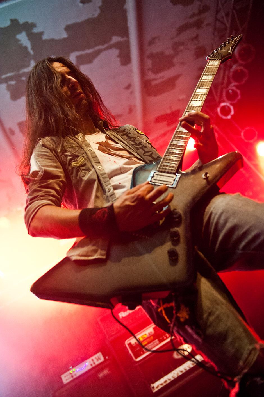 The Agonist live, Euroblast Festival 2013