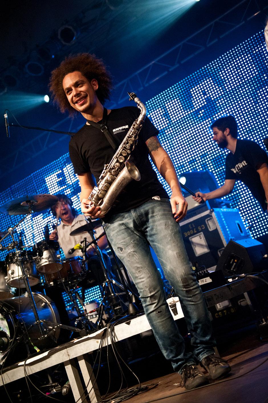 The Algorithm live, Euroblast Festival 2013