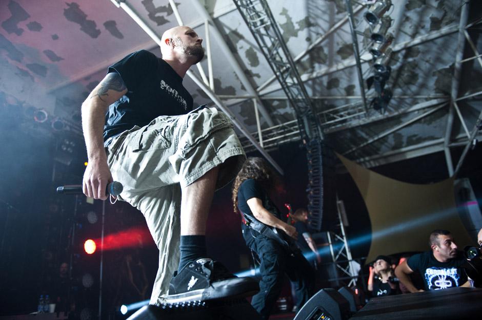 Meshuggah live, Euroblast Festival 2013