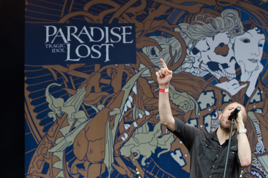 Paradise Lost live, Wacken Open Air 2012