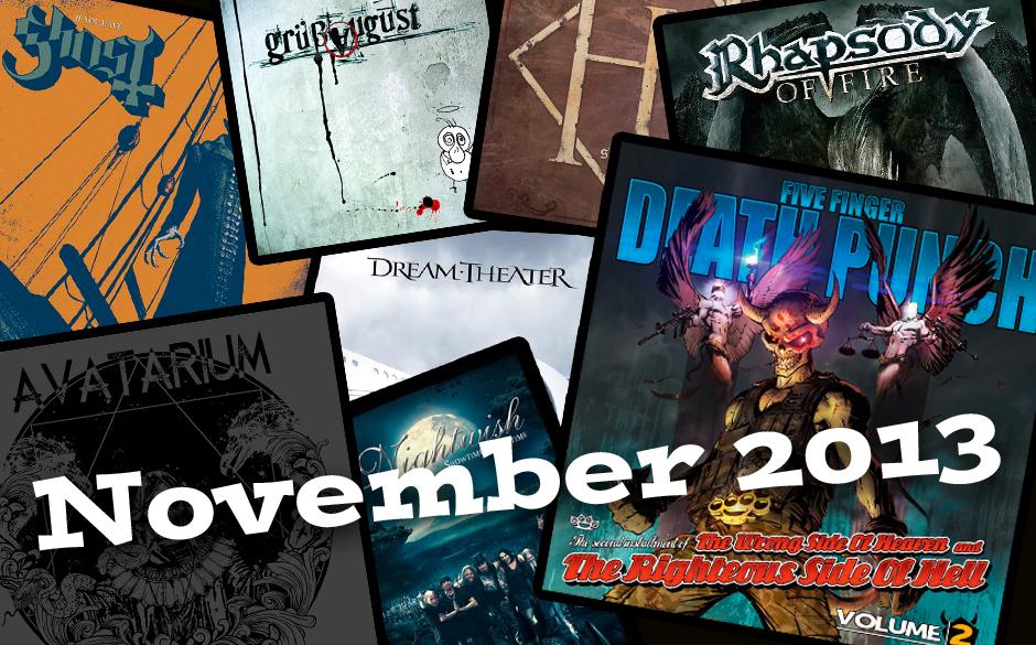 Die neuen Metal-Alben im November 2013 >>>