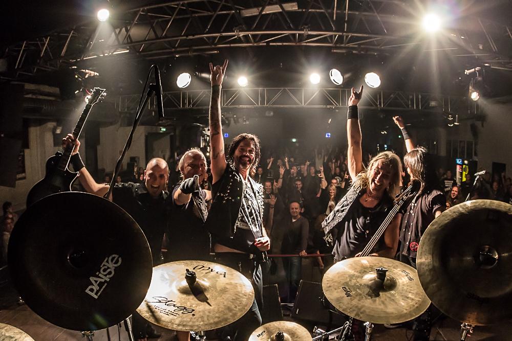 Jaded Heart live, 25.10.2013, München: Theaterfabrik