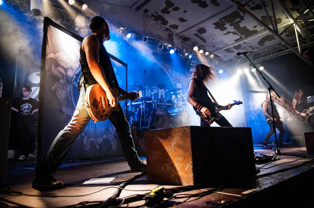 Amorphis live, Köln / Essigfabrik, 05.11.2013