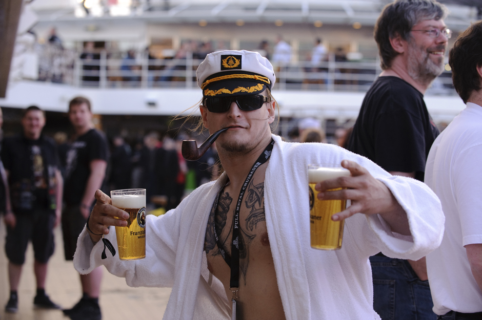 Full Metal Cruise 2013: Fans und Atmo