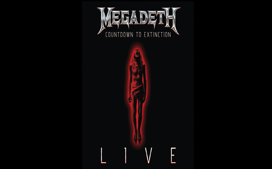 megadeth kritik amp stream countdown to extinction live