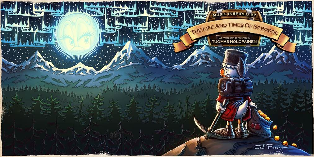 Tumoas Holopainen THE LIFE AND TIMES OF SCROOGE McDUCK