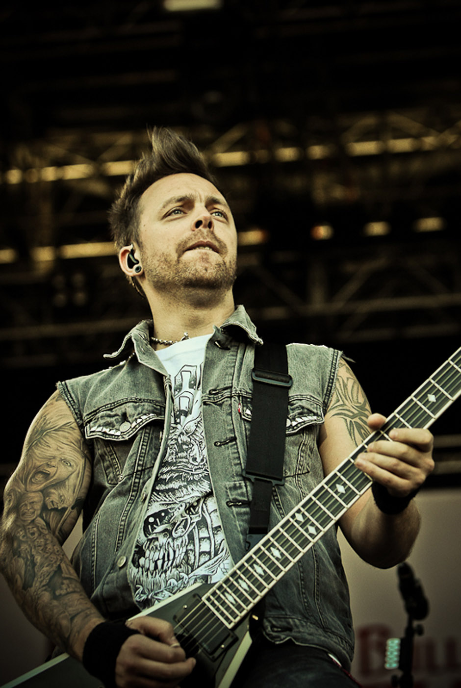 Bullet For My Valentine live, Nova Rock 2013
