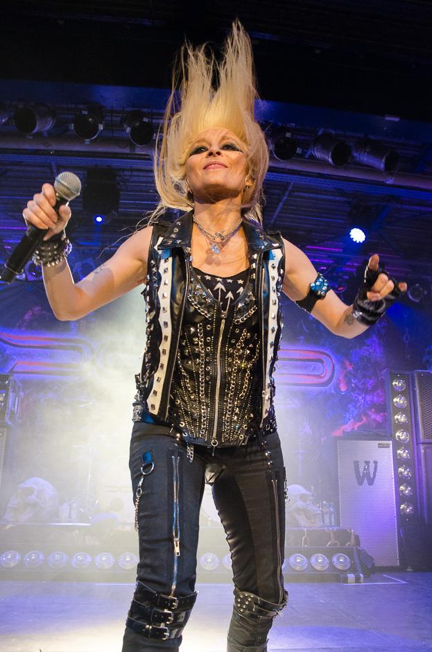 Doro live, 12.10.2013, München: Backstage