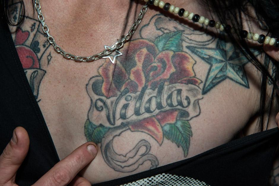 Die Tattoos von Hardcore Superstar-Sänger Jocke