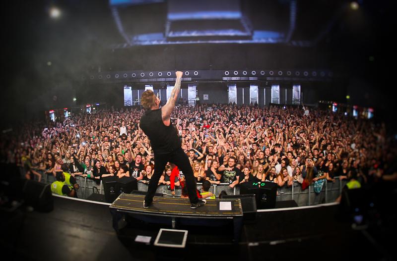 Papa Roach live 2013, Wien