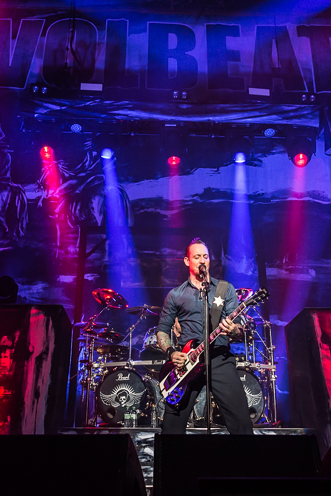 Volbeat live, 13.11.2013, München: Olympiahalle