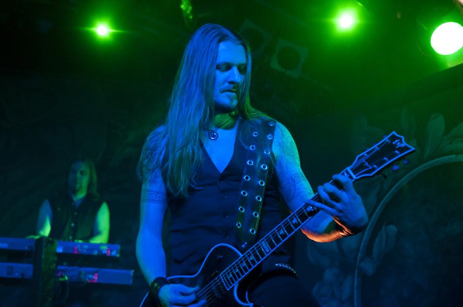 Amorphis live, 4.12.2013, Hamburg
